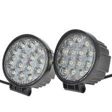 led automotive work light 4 inch 42w led work light flood offroad light for truck trailer boat