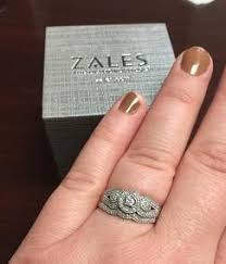 zales engagement rings 1 4 ct t w vintage style frame bridal set in 10k white