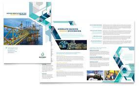 engineering brochure templates gas company brochure template design