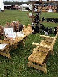 bench picnic table combo outdoor patio tables ideas