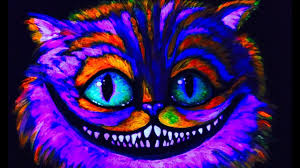 how to use black light paint cheshire glow cat blacklight uv learn to paint in uv blacklight