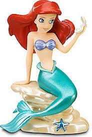 ariel disney mermaid ocean princess pvc toy figure cake