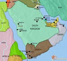 arab map map of arabia at 1000bc timemaps