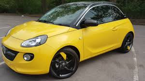 vauxhall yellow vauxhall adam james blonde yellow youtube