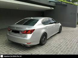 lexus gs 350 f sport used for sale buy used toyota lexus gs350 f sport auto car in singapore 195 800