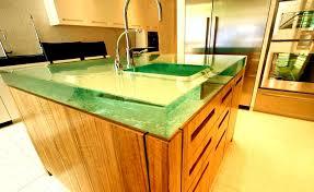 unique kitchen countertop ideas glass countertops chicago installation age innovation inc