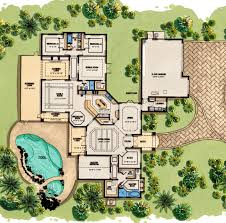 modern contemporary house floor plans mediterranean house plans architectural designs small luxury 3