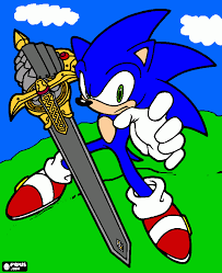 extremely ideas sonic black knight coloring pages 16