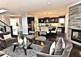 Kitchen Dining Room Designs Open Concept Living Room Furniture Placement Open Concept Living