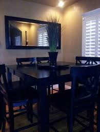 Narrow Dining Room Table Love The Light Fixture And Seating Styles How To Style A Small