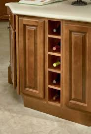 Poplar Kitchen Cabinets by How To Build A Wine Rack In A Cabinet