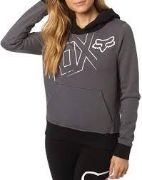 fox motocross sweatshirts fox fox women u0027s clothing hoodies pullover stable quality fox