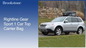 Rightline Gear Car Clips by Rightline Gear Sport 1 Car Top Carrier Bag Youtube