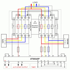 standby generator transfer switch wiring diagram wiring diagram