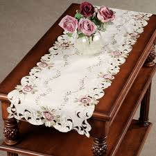 table runner embroidered table runners