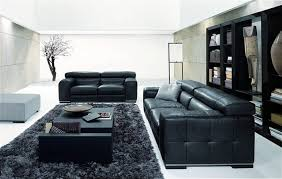 Living Room Ideas With Grey Sofas by Amazing New Nicolas Living Room Design With Black Sofa Black