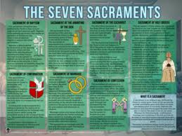 catholic stores online the seven sacraments explained poster catholic to the max