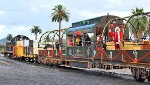 christmas lights train ride polar express 5 holiday train rides in northern california