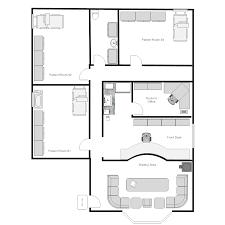 Smartdraw Tutorial Floor Plan 100 Floor Plan Diagrams Banquet Plan Space Layout Use This