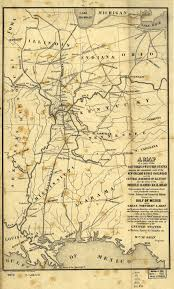 Maps Of Illinois by Illinois Central Railroad Map 1850 Illinois Centeral Rr