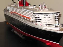 Queen Elizabeth Ii Ship by Queen Mary 2 Model Youtube
