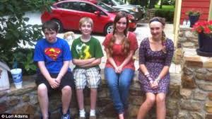 half siblings among donor s 48 children gather for family