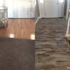 Laminate Flooring Before And After Flooring Before And After Reveal Wood Looking Tile 365 Days Of