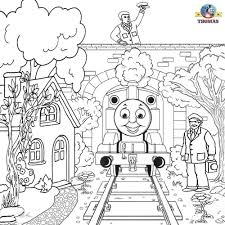 free coloring thomas friends clipart printable pictures