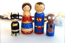 hero family wedding cake toppers