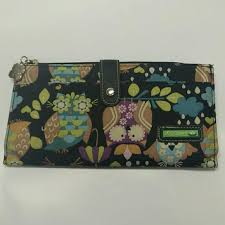 bloom wallet 69 bloom handbags large travel size owl wallet from