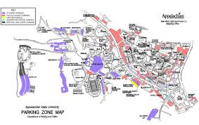 Asu Campus Map Appalachian State Parking Info