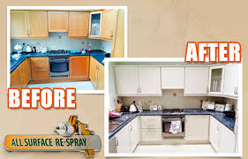respray kitchen cabinets what kinds of kitchens can be resprayed