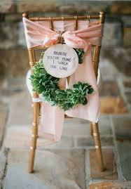 diy wedding chair signs u0026 decoration ideas