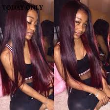 ombre weave top 10a burgundy hair ombre hair