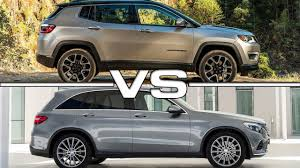 compass jeep 2016 2017 jeep compass vs 2016 mercedes glc youtube