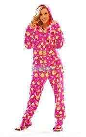 fuzzy purple ducks hooded footed pajamas pajamas footie pjs