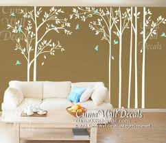 Nursery Wall Mural Decals Children Wall Decals Tree Wall Decal By Cuma Wall Decals On Zibbet