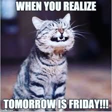 Almost Friday Meme - lickspillfree hashtag on twitter