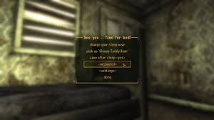 see you time for bed nv at fallout new vegas mods and community