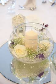 cheap centerpiece ideas fish bowl mirror wedding centerpieces wedding centerpieces and