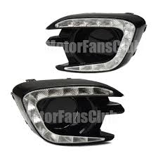 new led daytime running light for mitsubishi pajero sport fog drl