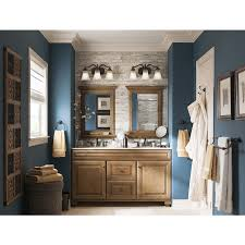 Allen Roth Bathroom Cabinets by Shop Allen Roth Ballantyne Mocha With Ebony Glaze Traditional