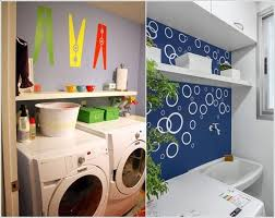 excellent ideas to decorate your laundry room wall home