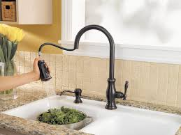 Kitchen Faucet Spray Bronze Faucet Stainless Sink Attractive Oiled Bronze Kitchen
