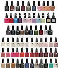 cnd shellac uv nail polish choose from all colours top coat
