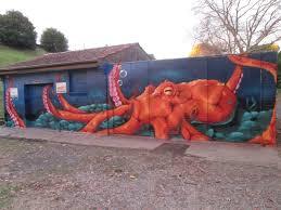 krimsone street art murals octopus