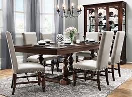 raymour and flanigan dining room sets halloran 7 pc dining set gray cherry raymour flanigan