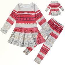 new baby pajamas moana printing sleeve top