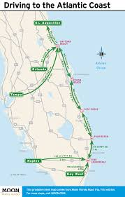 Florida Interstate Map by Plan A 14 Day Florida Road Trip Moon Travel Guides
