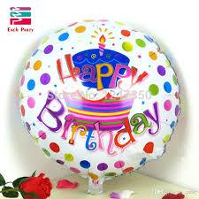 18 Inch Happy Birthday Cake Foil Balloons Children Birthday